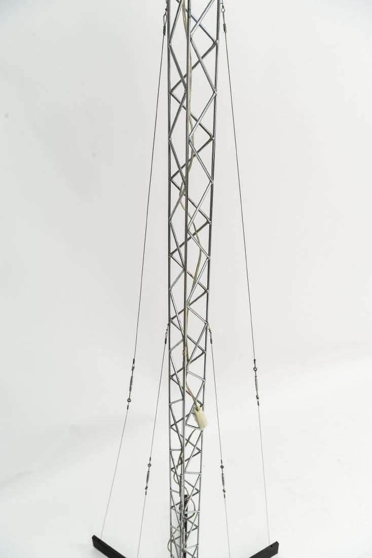 C. JERE CRANE TRUSS COUNTERBALANCE FLOOR LAMP - 3