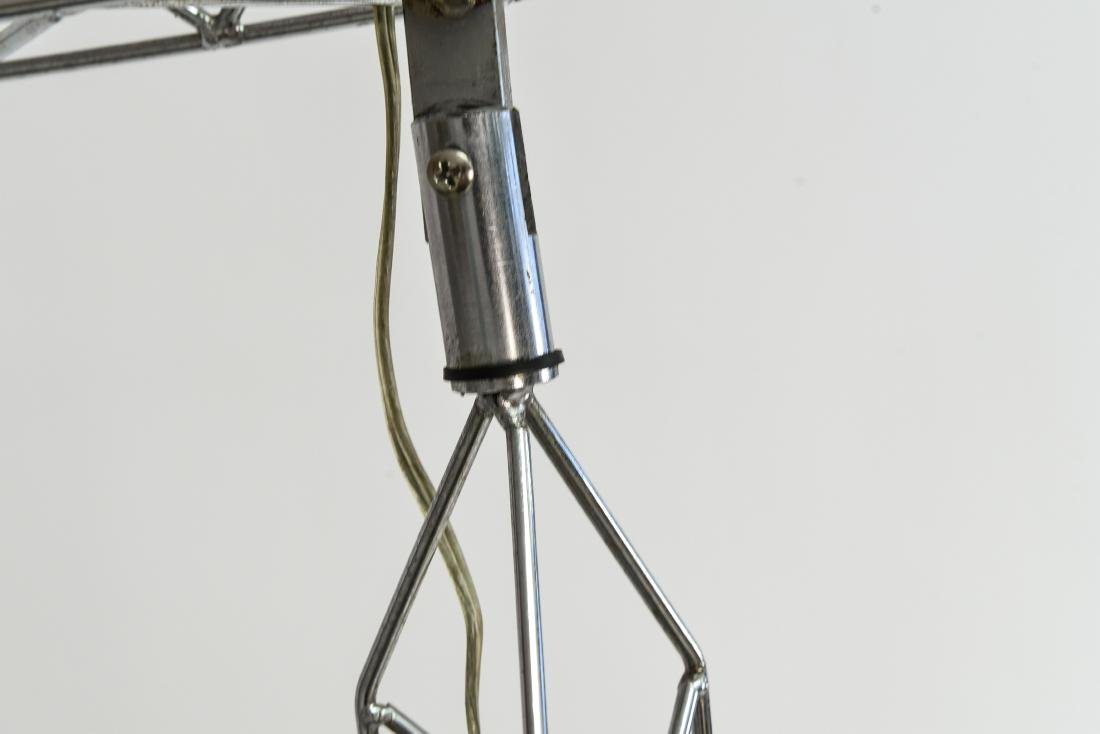 C. JERE CRANE TRUSS COUNTERBALANCE FLOOR LAMP - 6