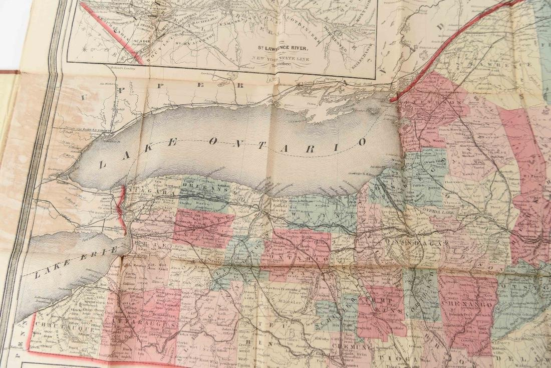 1858 SMITH-DISTURNELL'S NEW TOWNSHIP MAP OF NY - 6