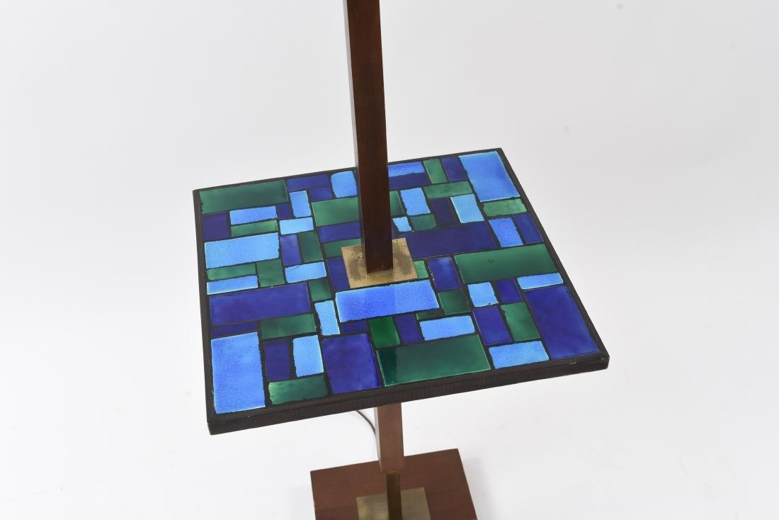 MID-CENTURY MOSAIC TABLE FLOOR LAMP - 2