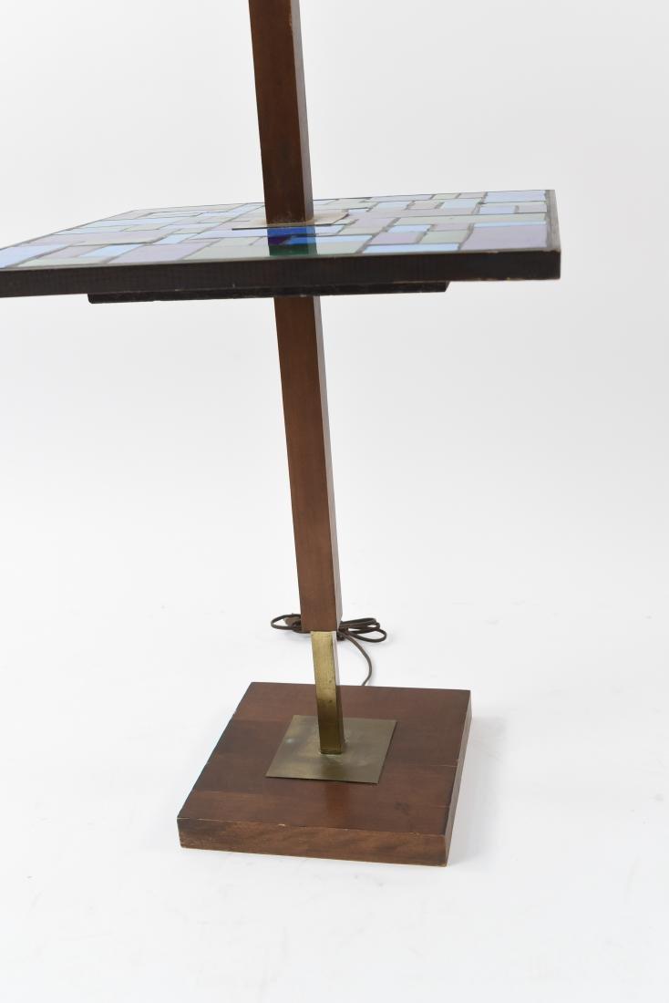 MID-CENTURY MOSAIC TABLE FLOOR LAMP - 4