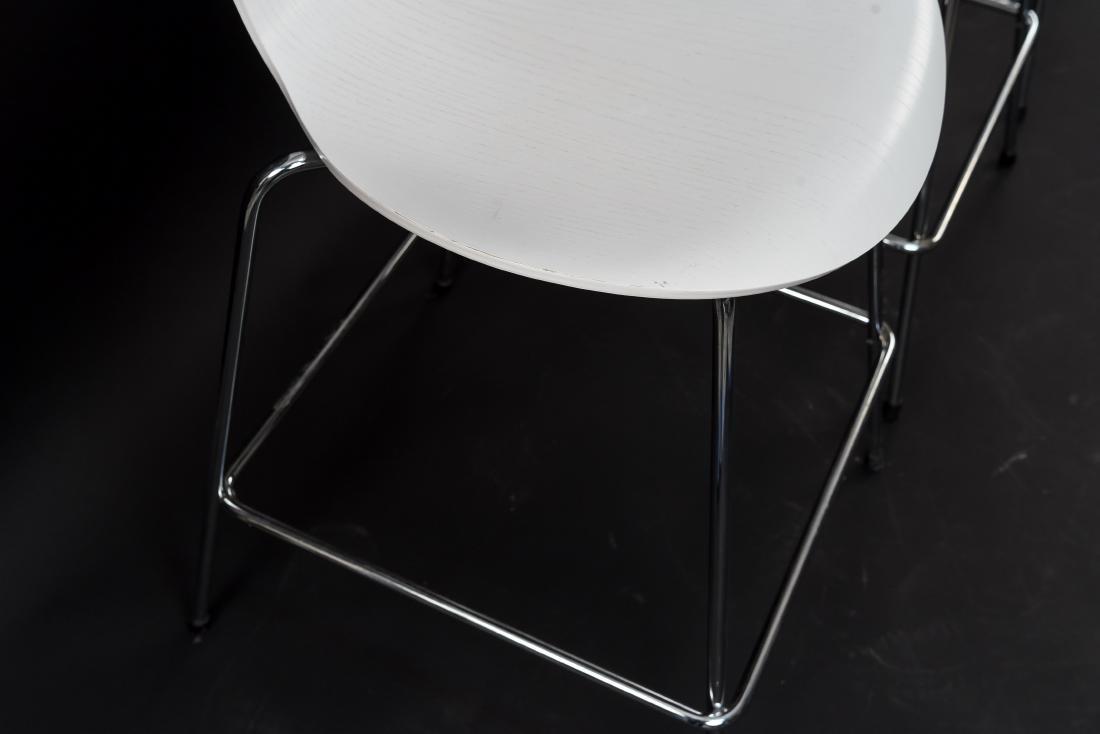 (8) FRITZ HANSEN BAR STOOLS - 5
