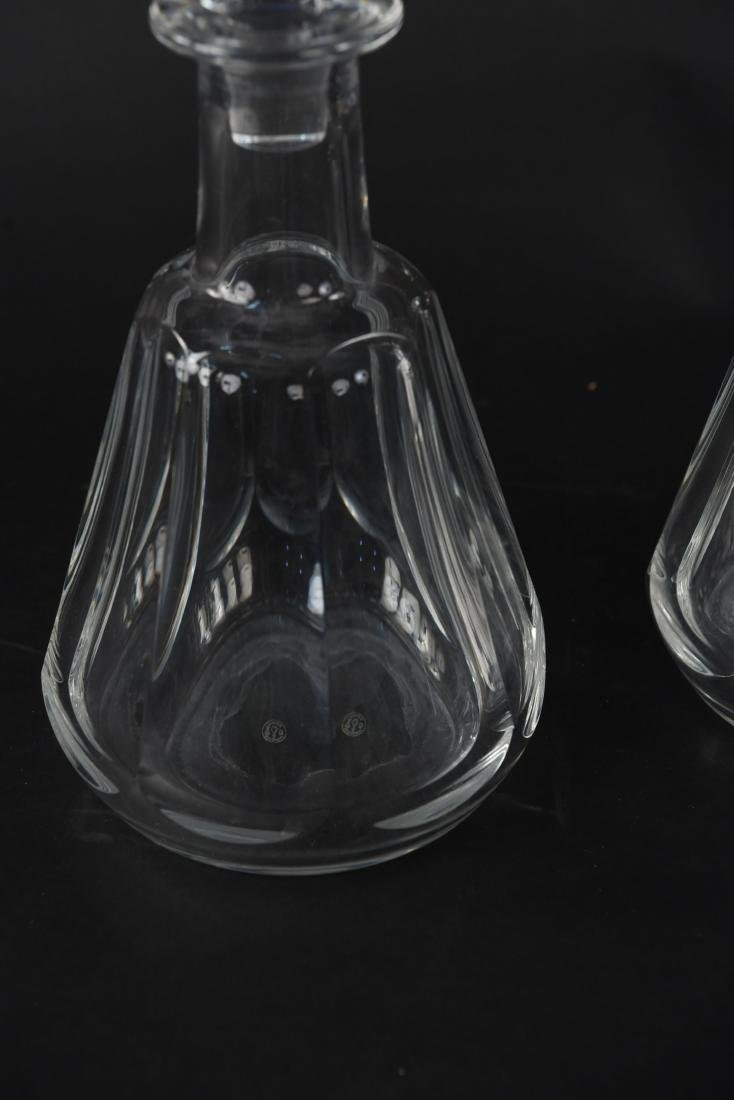 THREE BACCARAT CRYSTAL DECANTERS - 2