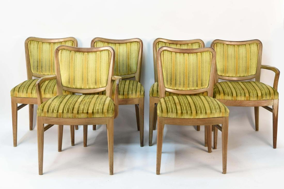 (6) JOHN STUART DINING CHAIRS