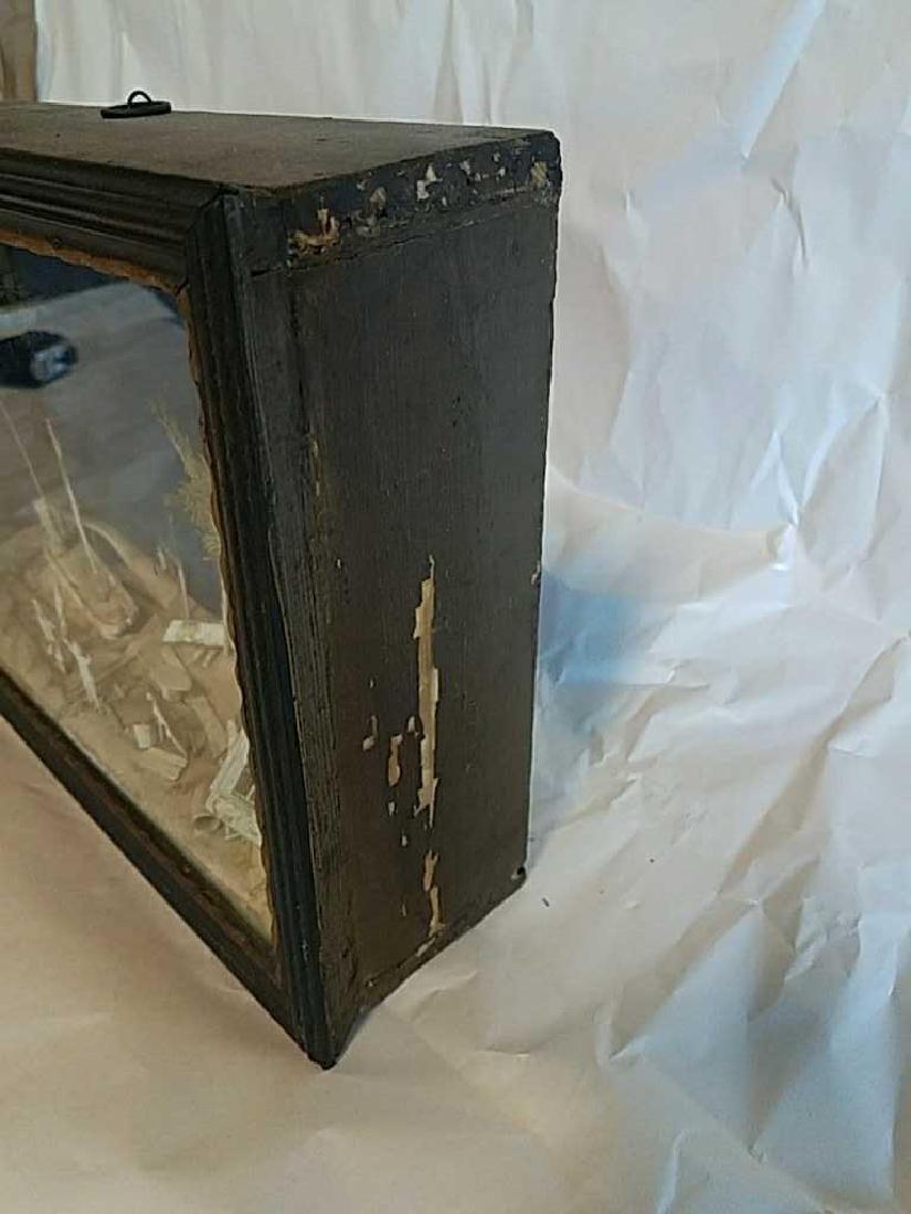 19TH C. CARVED BONE SHADOW BOX DIORAMA - 5