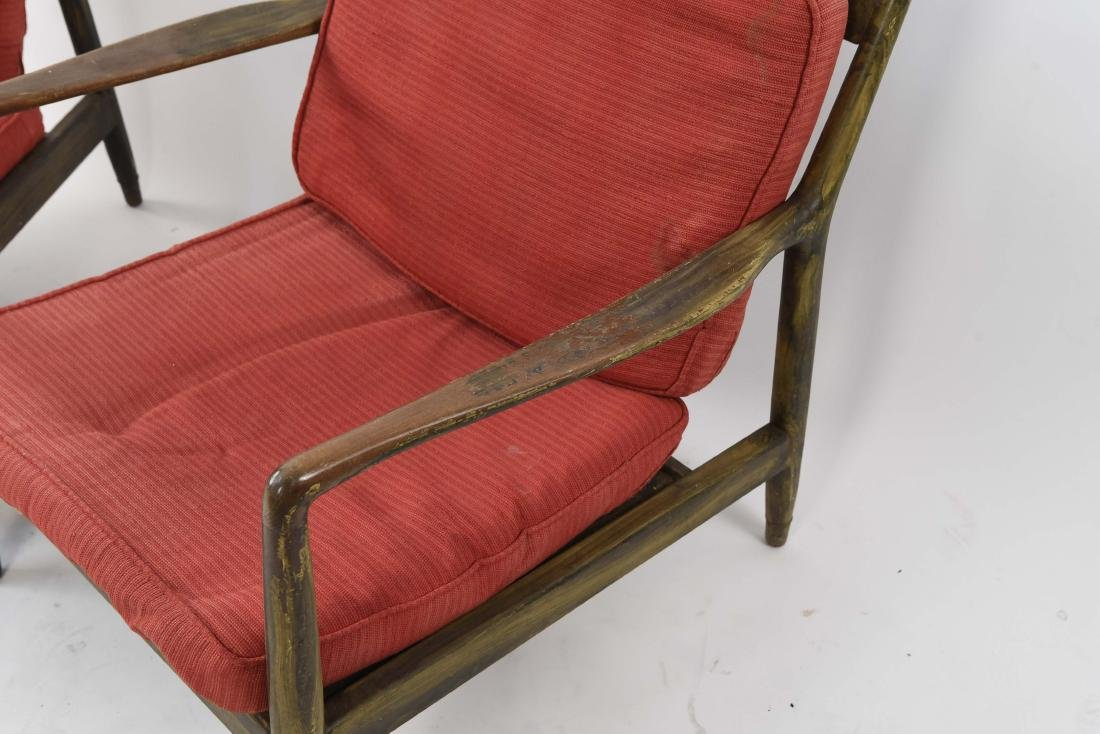 PAIR OF MID-CENTURY LOUNGE CHAIRS - 6