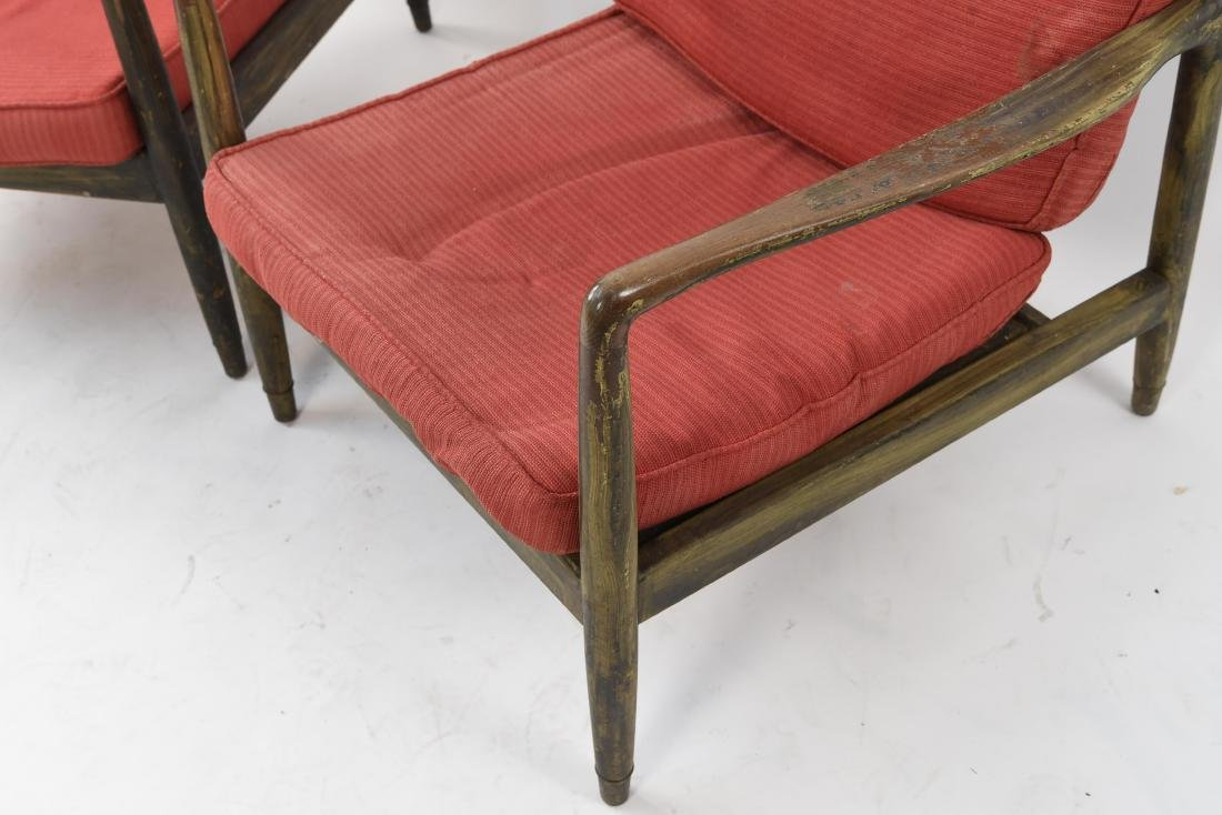 PAIR OF MID-CENTURY LOUNGE CHAIRS - 7