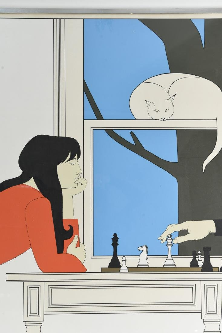 "WILL BARNET ""SEVENTH SEASON"" SERIGRAPH 1975 - 2"