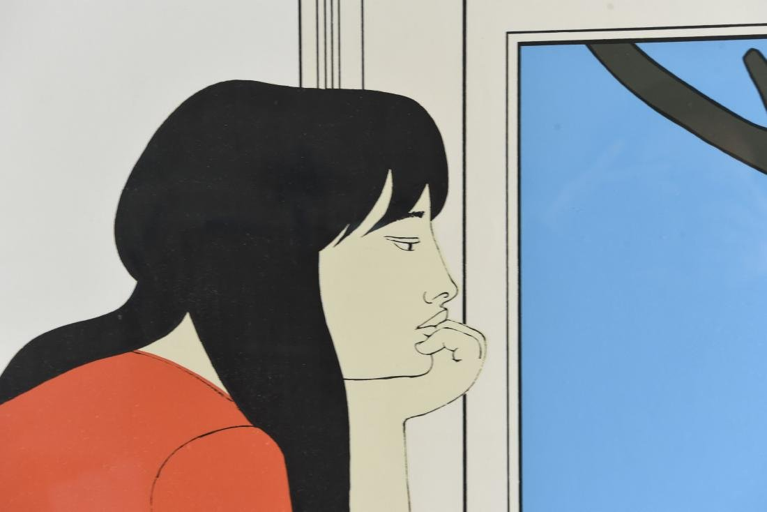 "WILL BARNET ""SEVENTH SEASON"" SERIGRAPH 1975 - 4"