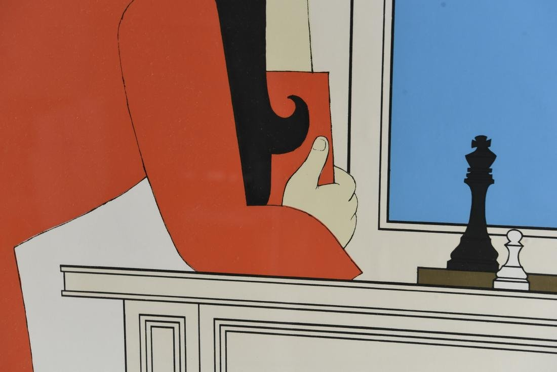 "WILL BARNET ""SEVENTH SEASON"" SERIGRAPH 1975 - 5"