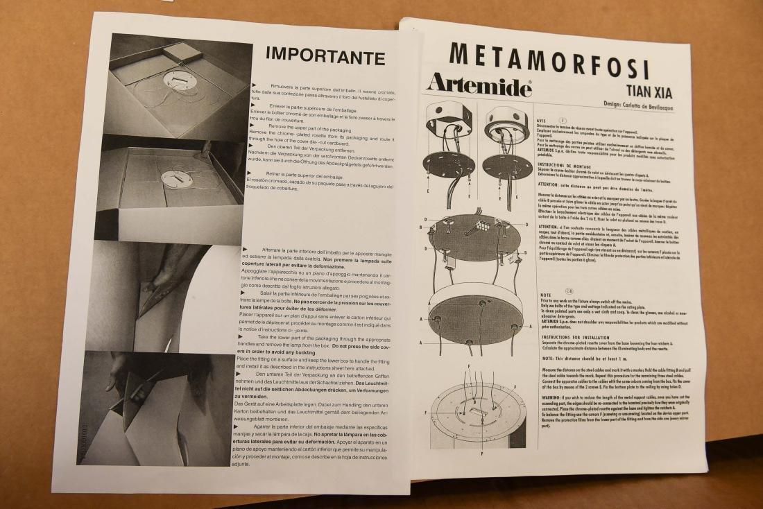 ARTEMIDE TIAN XIA METAMORFOSI PENDANT LAMP - 5