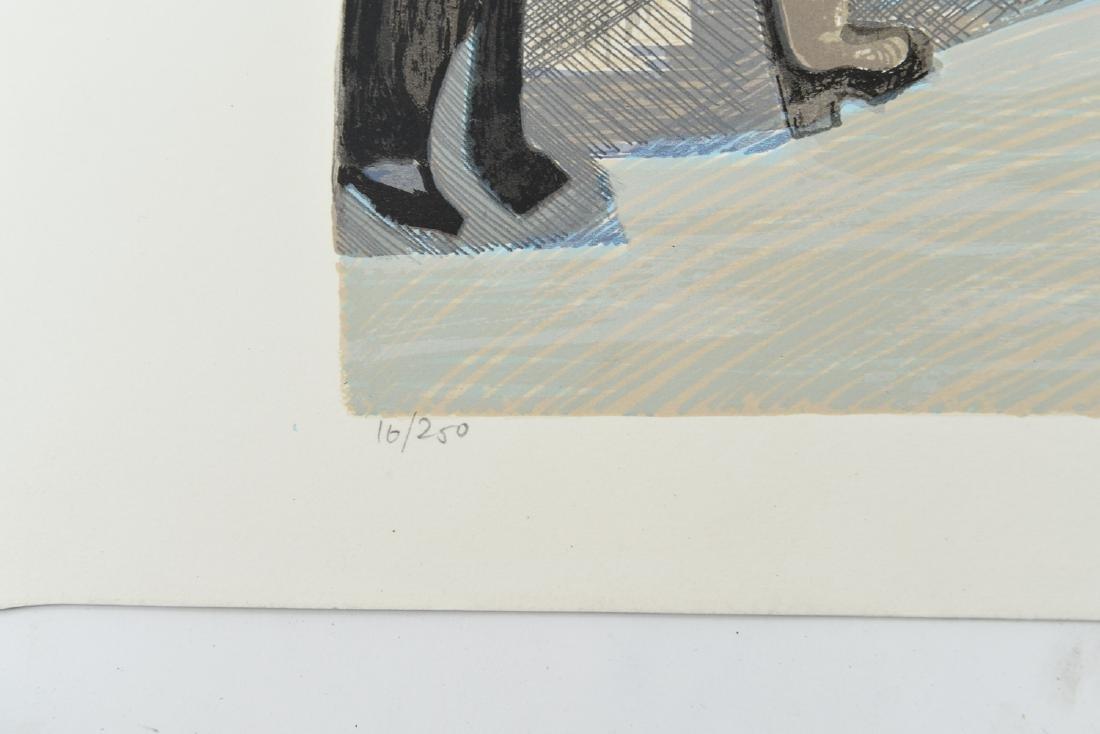 """(2) DAVID SCHNEUER (1906-1988) """"THE CYCLIST"""" LTD. - 4"""