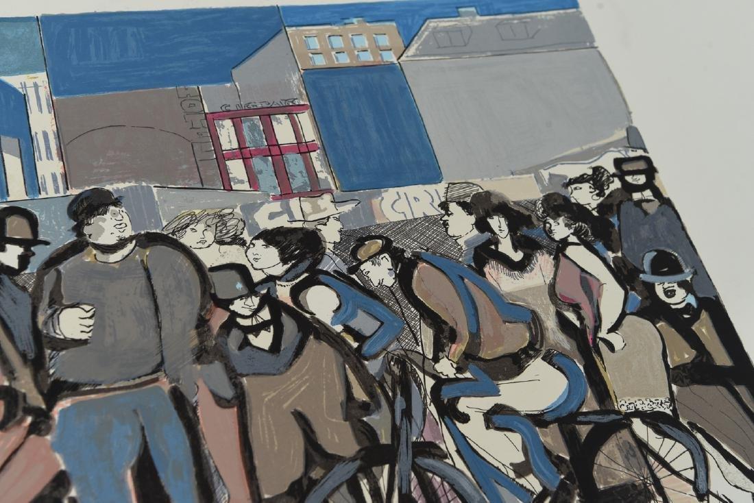 """(2) DAVID SCHNEUER (1906-1988) """"THE CYCLIST"""" LTD. - 9"""
