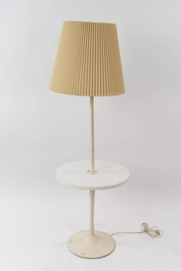 WHITE TULIP TABLE FLOOR LAMP
