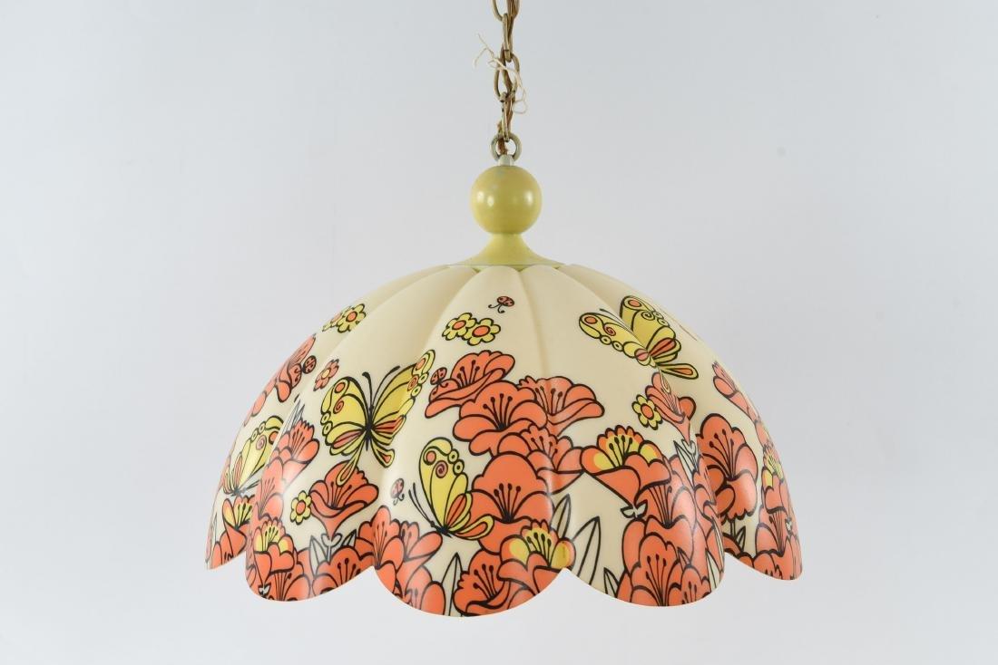1960S PLASTIC PENDANT LAMP