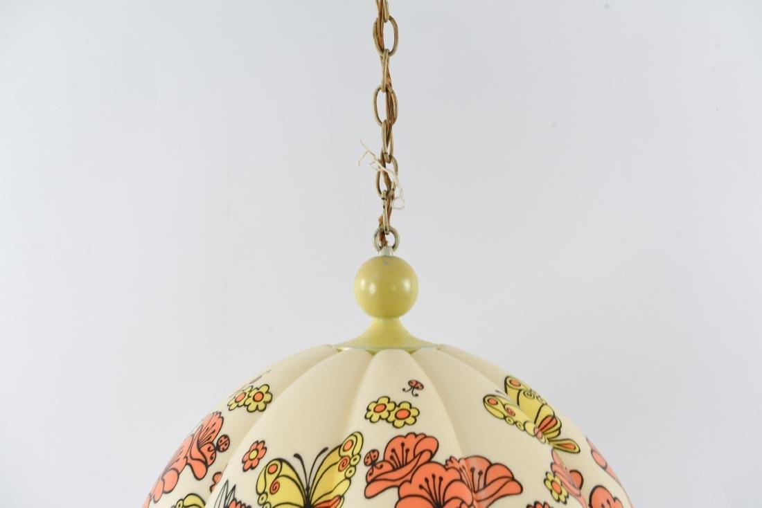1960S PLASTIC PENDANT LAMP - 2