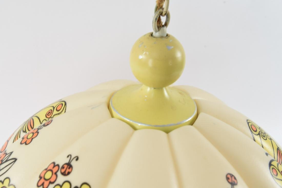 1960S PLASTIC PENDANT LAMP - 3