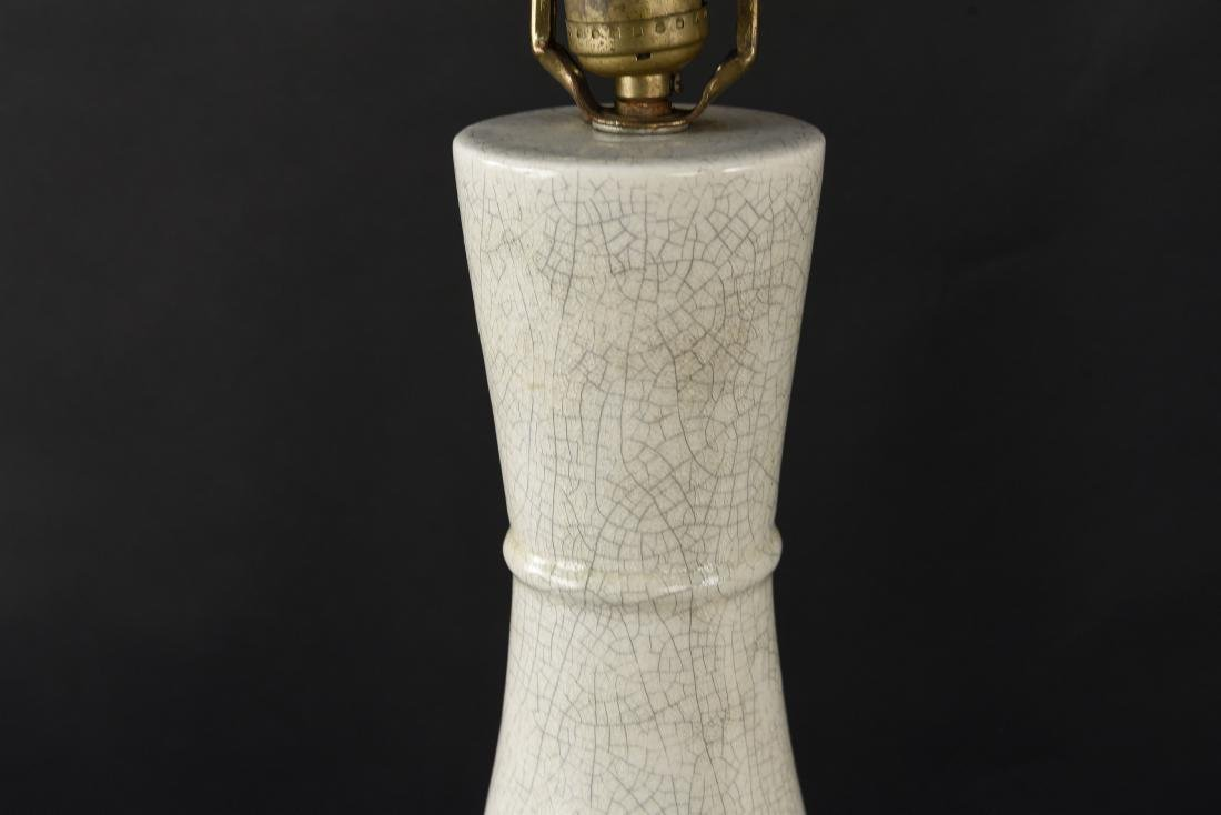 PAIR OF MID-CENTURY CERAMIC LAMPS - 3