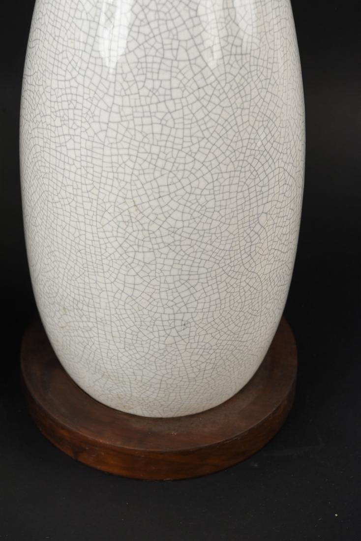 PAIR OF MID-CENTURY CERAMIC LAMPS - 7
