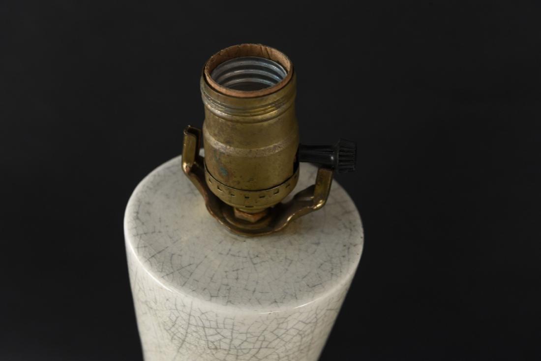 PAIR OF MID-CENTURY CERAMIC LAMPS - 9