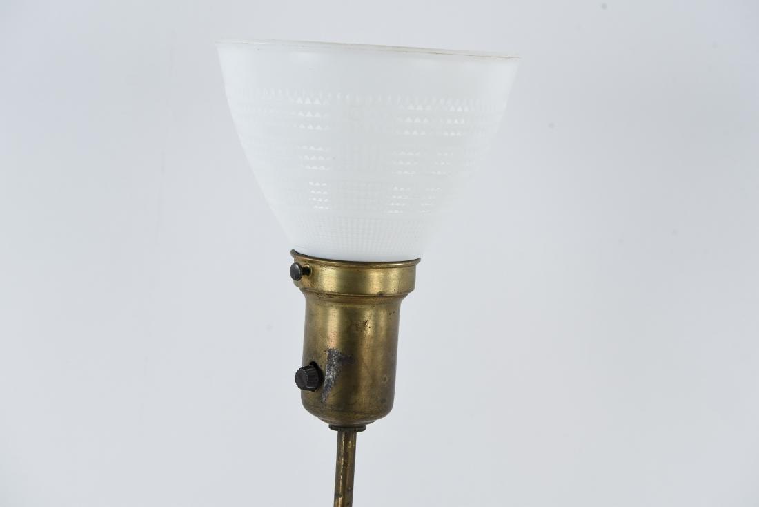 BRASS SCULPTURAL BUDDHA LAMP - 5