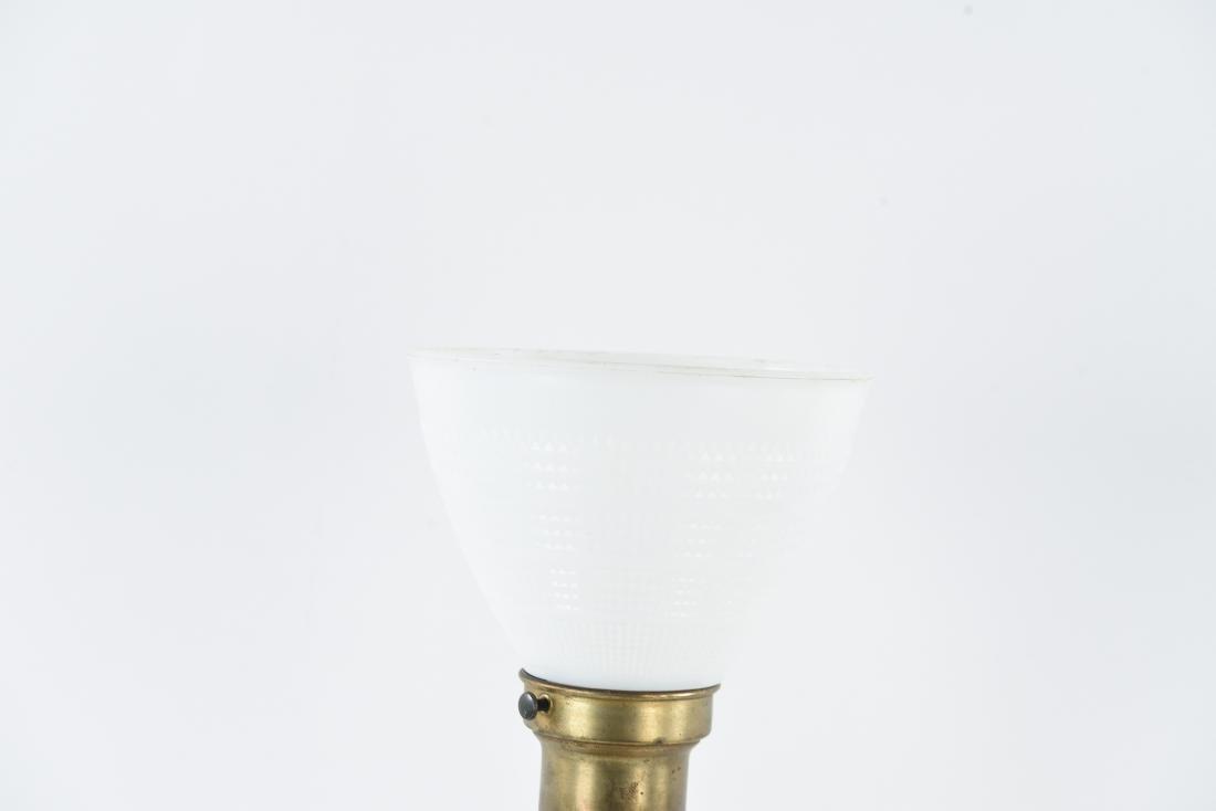BRASS SCULPTURAL BUDDHA LAMP - 6
