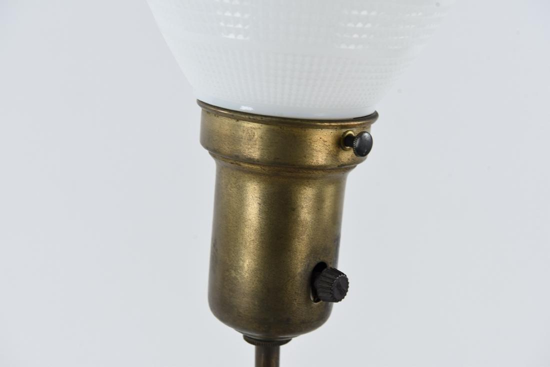 BRASS SCULPTURAL BUDDHA LAMP - 9
