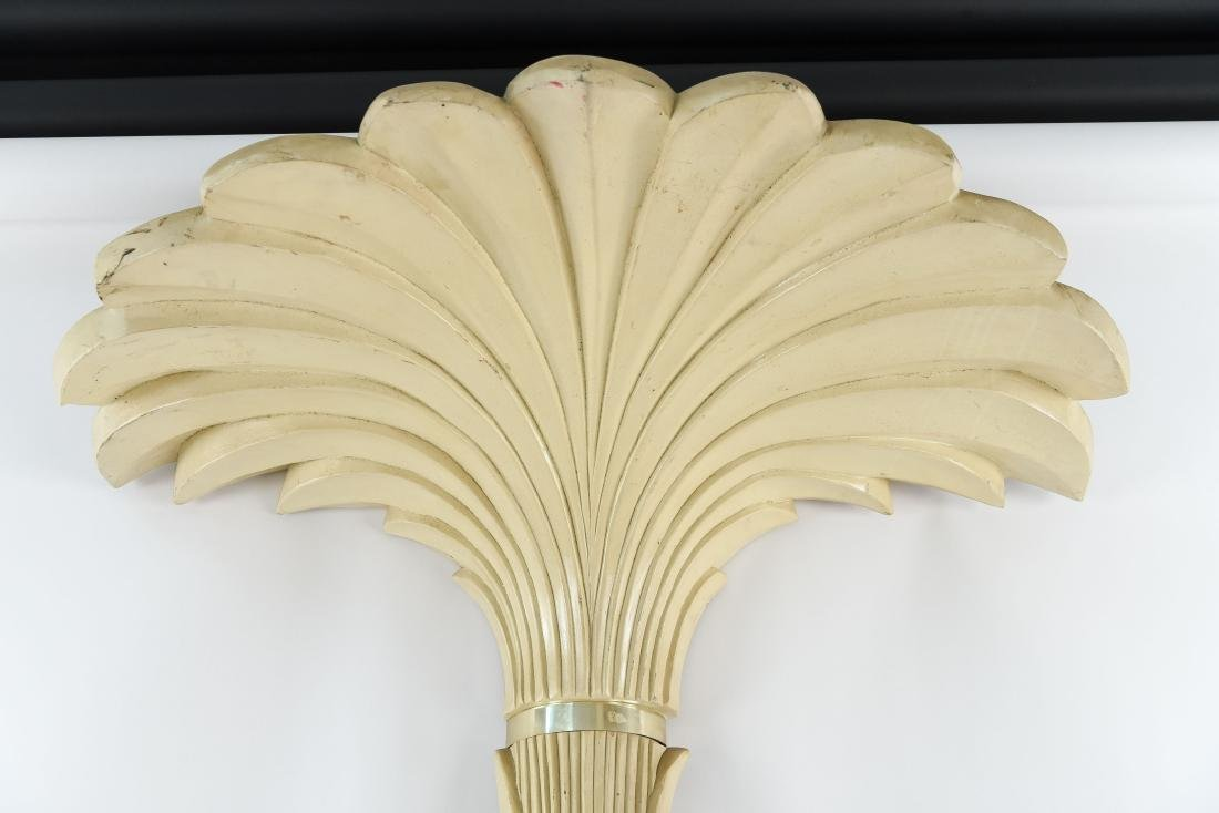 LARGE PALM TREE WALL SCONCE LAMP - 6