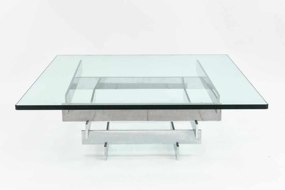 PAUL MAYEN FOR HABITAT STACKED CHROME COFFEE TABLE - 2