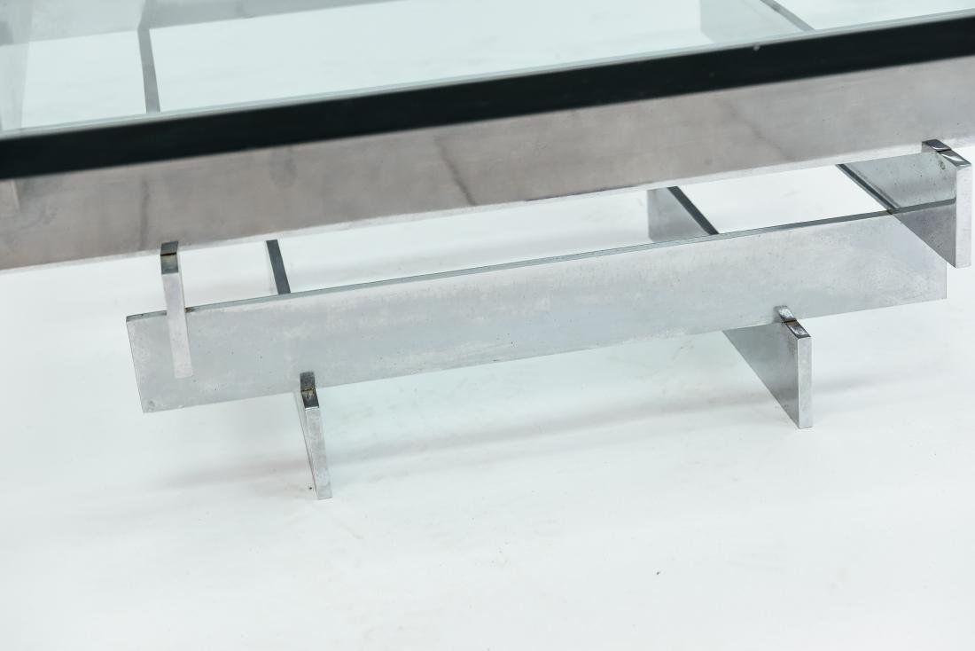 PAUL MAYEN FOR HABITAT STACKED CHROME COFFEE TABLE - 6