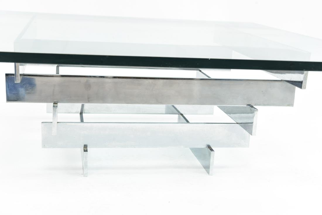 PAUL MAYEN FOR HABITAT STACKED CHROME COFFEE TABLE - 7
