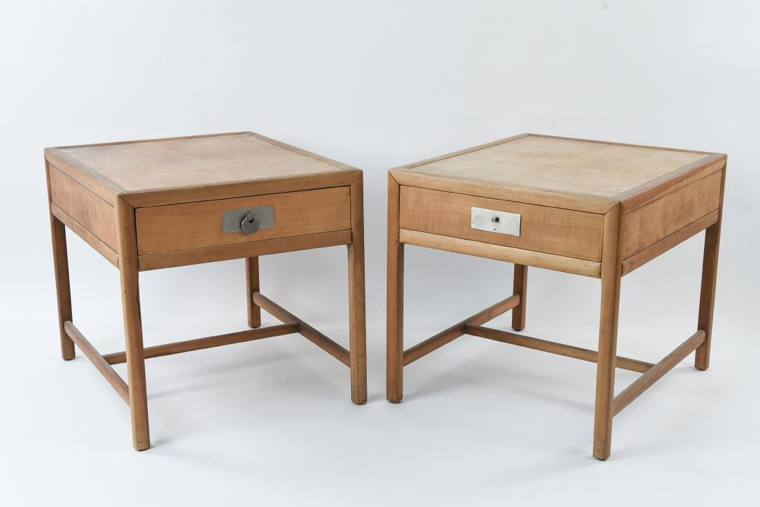 PAIR OF BAKER MID-CENTURY SIDE TABLES