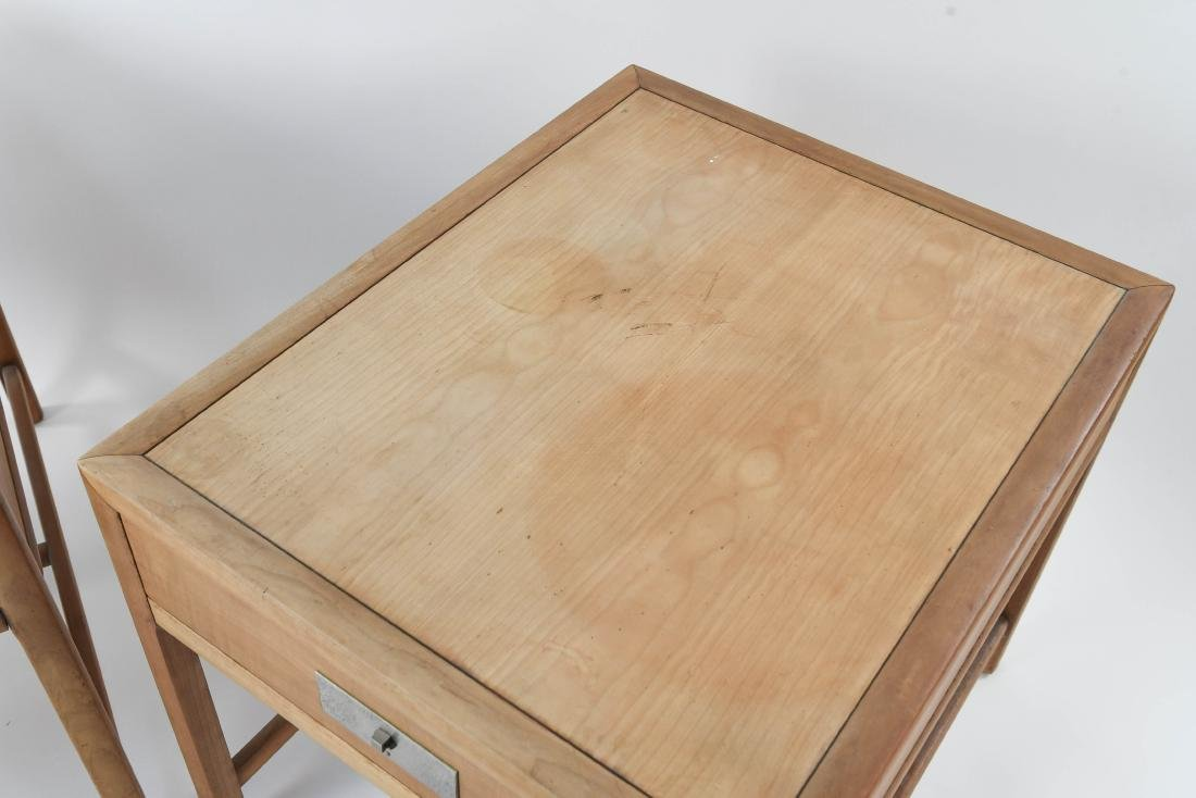 PAIR OF BAKER MID-CENTURY SIDE TABLES - 4