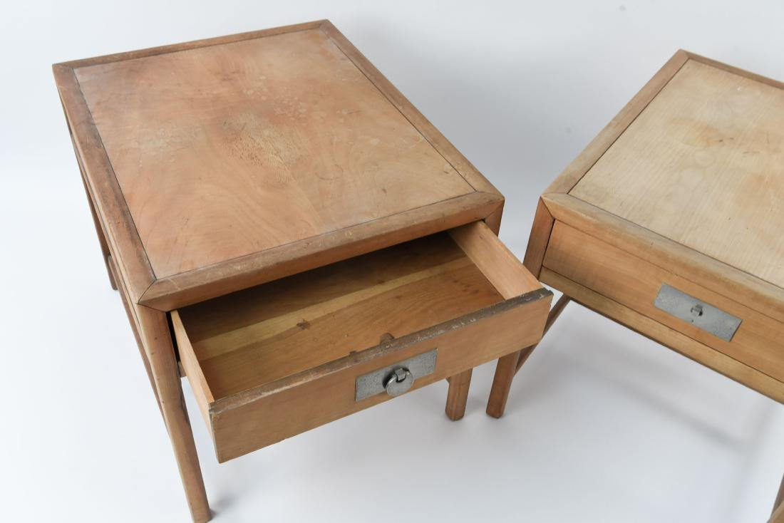 PAIR OF BAKER MID-CENTURY SIDE TABLES - 6
