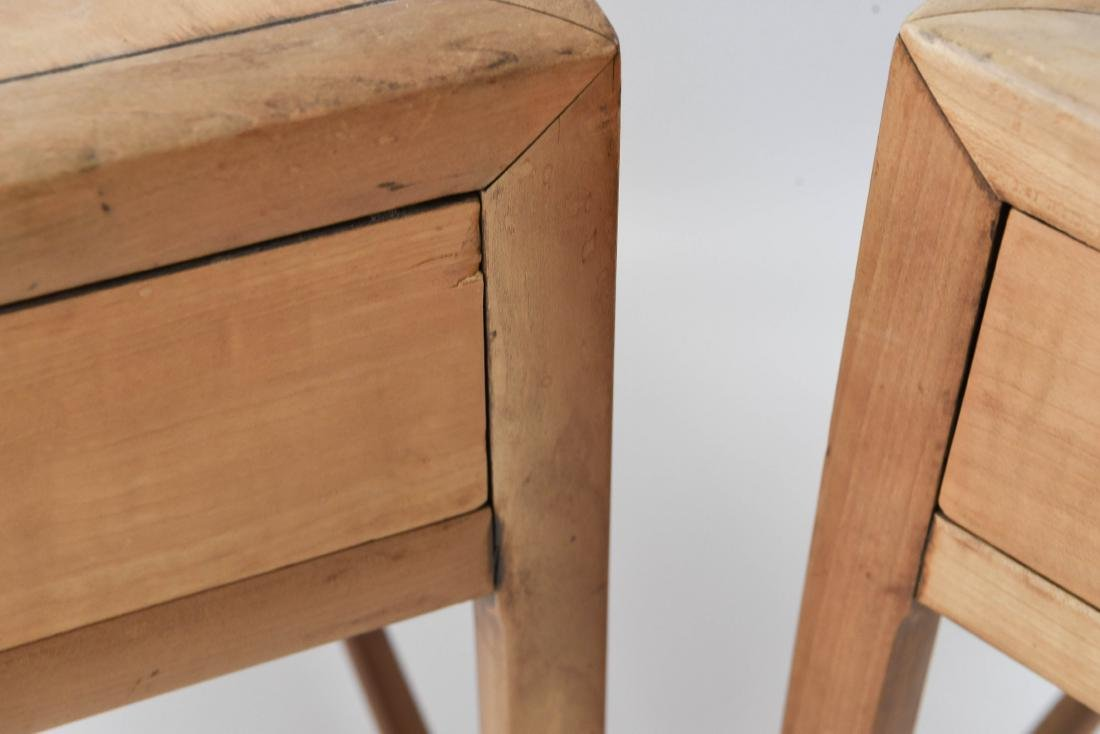 PAIR OF BAKER MID-CENTURY SIDE TABLES - 8