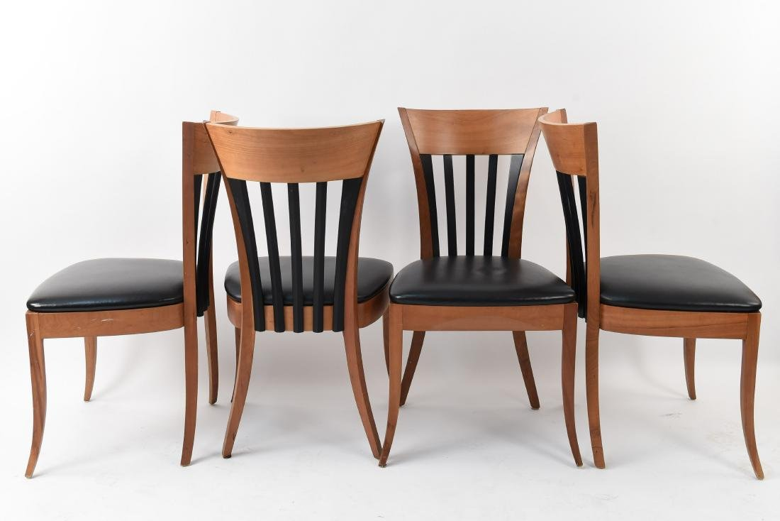(4) DINING CHAIRS - 5