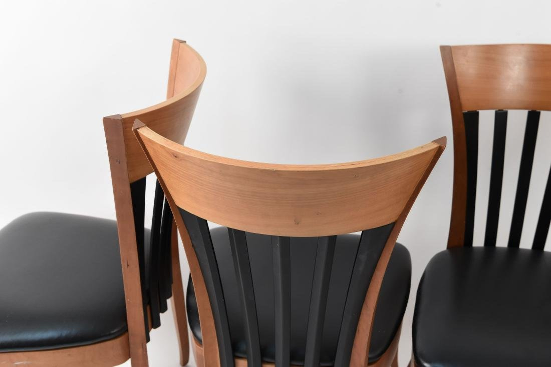 (4) DINING CHAIRS - 6
