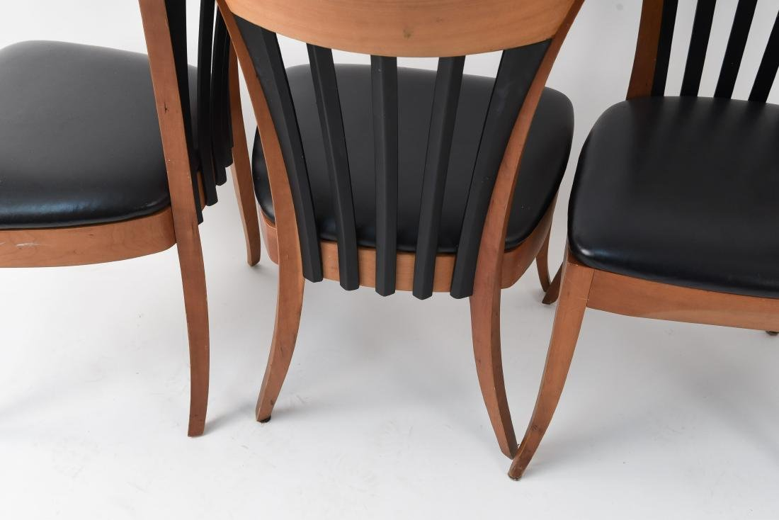 (4) DINING CHAIRS - 7