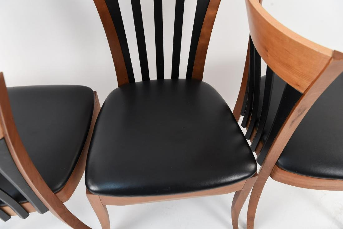 (4) DINING CHAIRS - 8