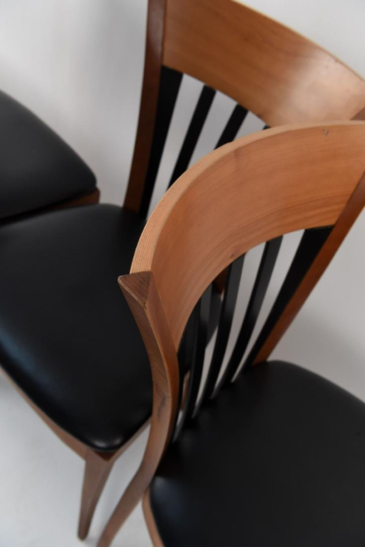 (4) DINING CHAIRS - 9