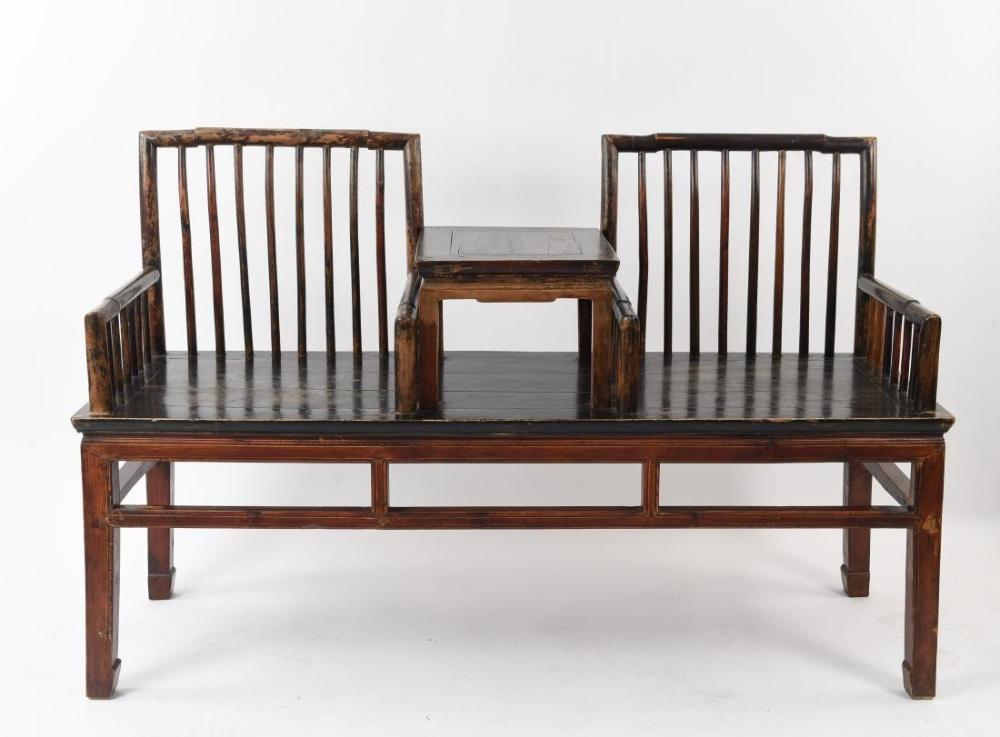 CHINESE DOUBLE SEAT BENCH