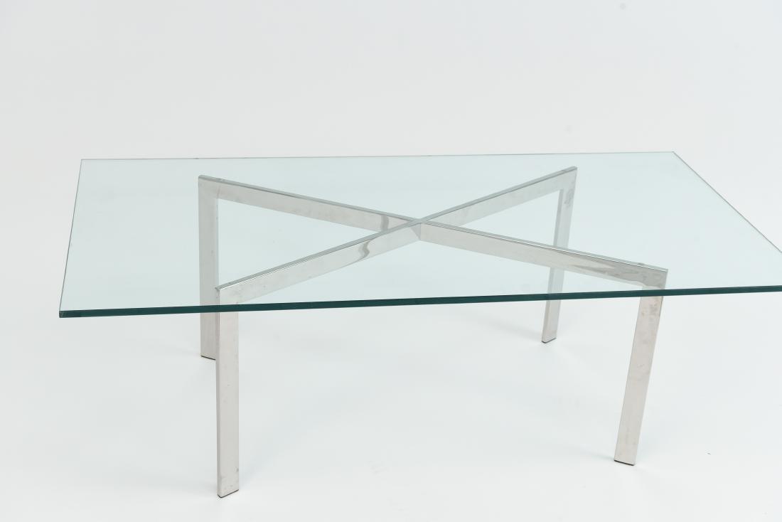 MIES VAN DER ROHE BARCELONA COFFEE TABLE - 9