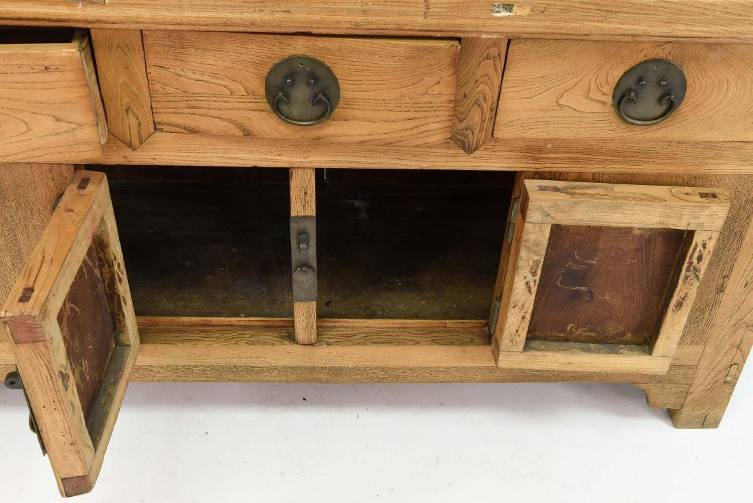 CHINESE CONSOLE TABLE SIDEBOARD CABINET - 10