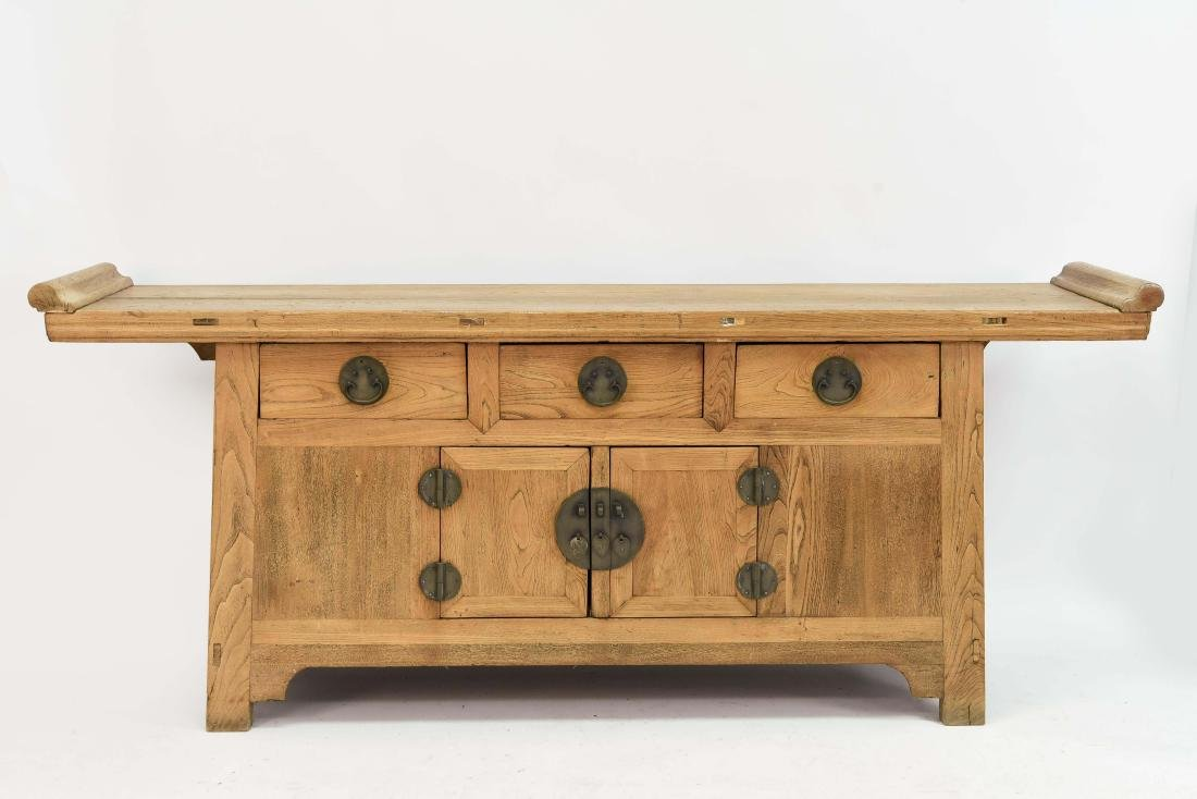 CHINESE CONSOLE TABLE SIDEBOARD CABINET