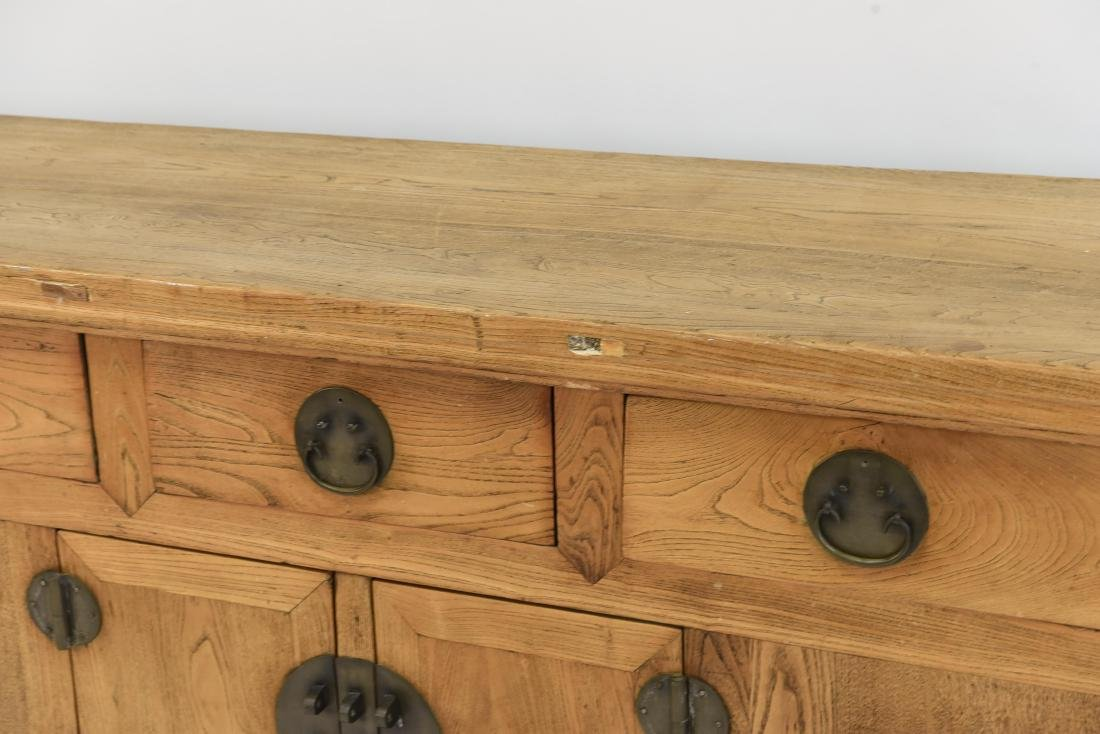 CHINESE CONSOLE TABLE SIDEBOARD CABINET - 2