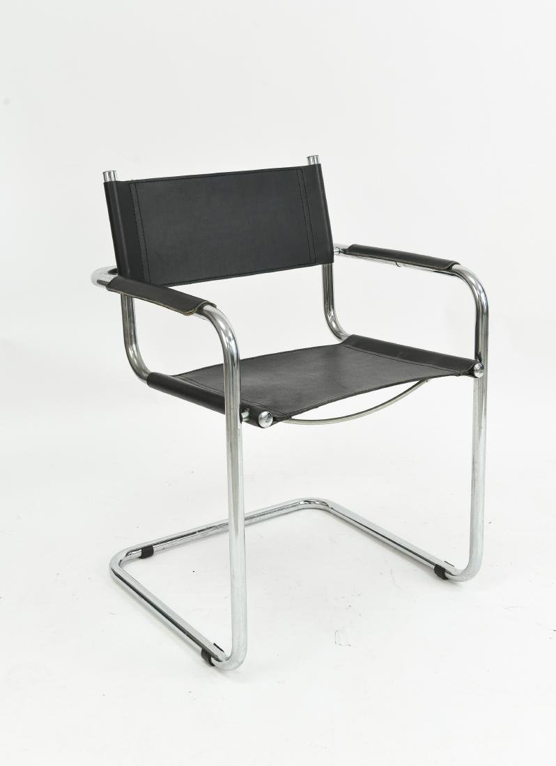 MATTEO GRASSI LEATHER CHAIR