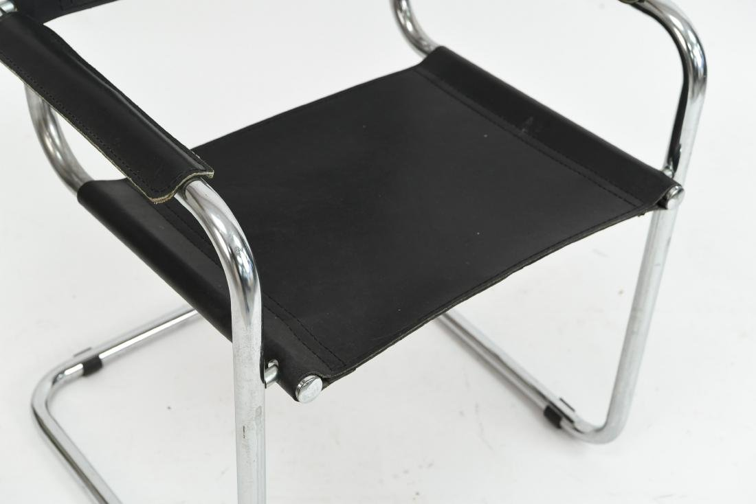 MATTEO GRASSI LEATHER CHAIR - 4