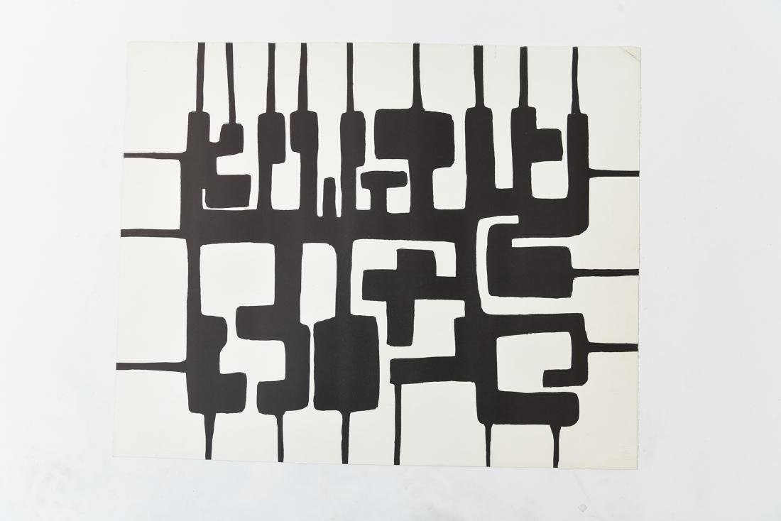 LARRY ZOX (1937-2006) UNSIGNED LITHOGRAPH