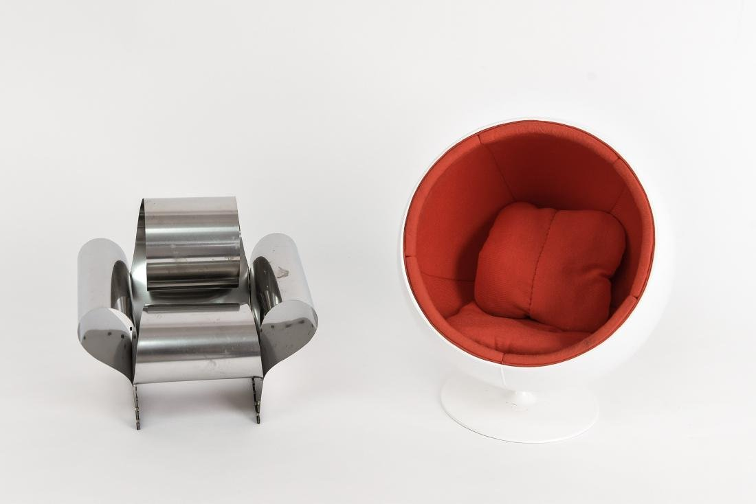 (2) VITRA MINIATURE CHAIRS
