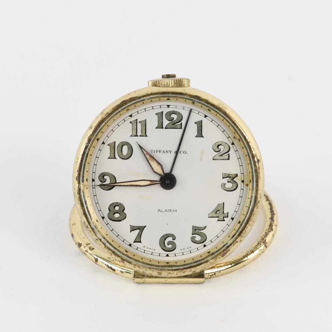 TIFFANY & CO. TRAVEL ALARM CLOCK